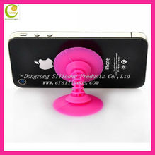 Mobile phone accessories funny mini vihicle bracket slicone rubber mobile phone stand