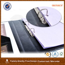 2 hole A4 file folder / D ring binder document holder with car sleeve