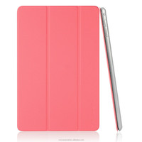PU Leather Case for Apple iPad mini 4 (2015 Released) with Magnetic Auto Wake & Sleep Function case with Italian rose color