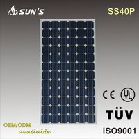 Poly-crystalline Solar Panel / Solar Module 40W With TUV/IEC Certification