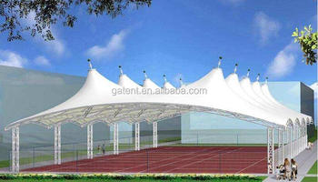 20 Years Warranty Tennis Court Cover PTFE Fabric