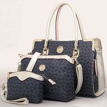 3 in1 cheapest high qaulity pu leather bag,women hand bags,hand bags