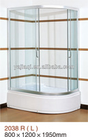 china hangzhou 6MM Tempered glass Sector Shower Cabin