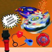Metal Beyblade Set toy Metal fusion with launcher four designs