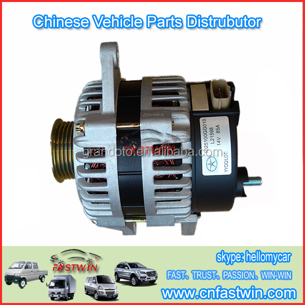 High Quality Auto Spare Parts CarJAC1025100GG010 Alternator For Aftermarket Repair