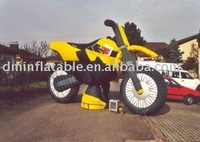 inflatable motorbike replicate