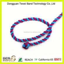 Colorful twisted rope,color changing rope