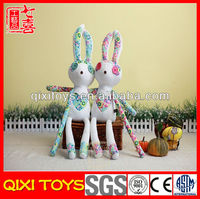 stuffed cotton rabbit doll