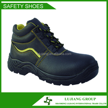 2015 New Production Genuine Leather Man Safety Work Shoes