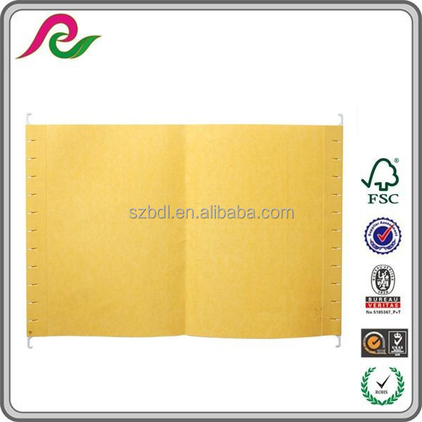 Manila material suspension files/paper hanging files/office supplier file folder