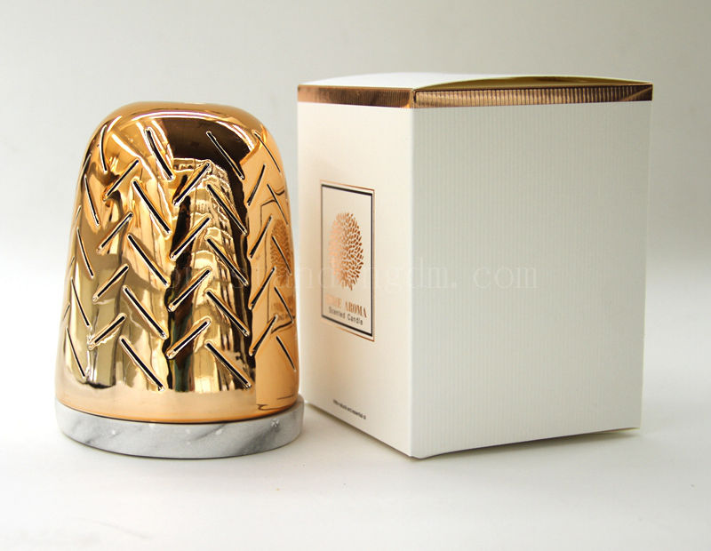 Fashion Design Customised luxury design soy wax scented candles