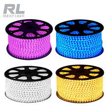 High bright RGB 220V Waterproof led strip with CE RoHS