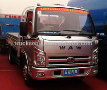 Cheap Waw Brand 3T MINI 4X2 LIGHT CARGO LORRY TRUCK For Sale
