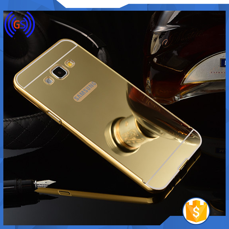 2016 Wholesale Cell Phone Accessories Metal Mirror Back Bumper Case For Samsung Galaxy S5,Cell Phone Case For Samsung Galaxy S5