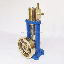 Custom-make Live Steam Single Cylinder Marine Model Steam Engine by OEM factory