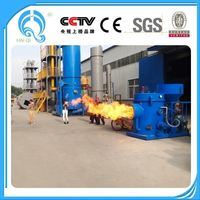 high thermal efficiency biomass sawdust burner for brick furnace