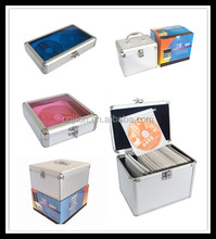 High quality aluminum 20/36/600/1000 discs CD case/CD box