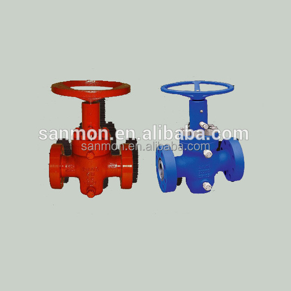 "API6A 3 1/8"" EXPANDING GATE VALVE with 3000PSI pressure"