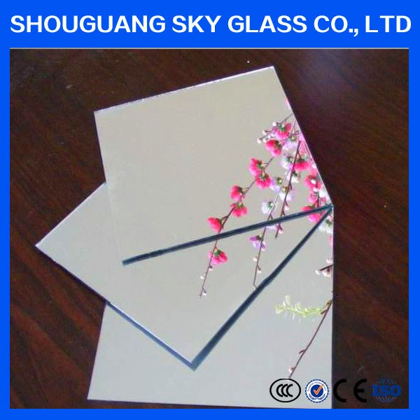 1.0mm- 6mm Clear Aluminum Mirror, Aluminum Mirror Plate for decoration With Cheaper Price