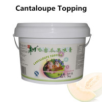 Fresh Cantaloupe Topping Fruit Filling Food and Beverage for bakery 3kg