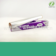 kitchen used aluminium foil roll