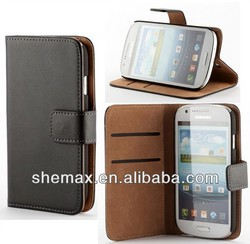 New Products flip cover For Samsung Galaxy Express i8730 Wallet Case