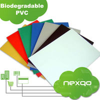 Professional 4 color printing White pvc card cover plastic sheet