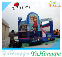 Frozen Princess Castles Inflatable Bouncer ,Inflatable Slide For Children Toy Games Sale