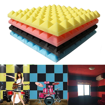 Breathable Eva Wholesale Pyramid Panels Studio Foam Wedges White Melamine Roll Soundproofing Soundproof Acoustic Foam