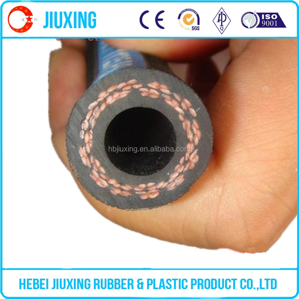 <strong>1</strong>/4'' SAE 100R3 double fiber braid(nonmetallic),rubber covered hydraulic hose