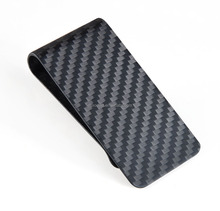Vary Color Customized carbon fiber money clip