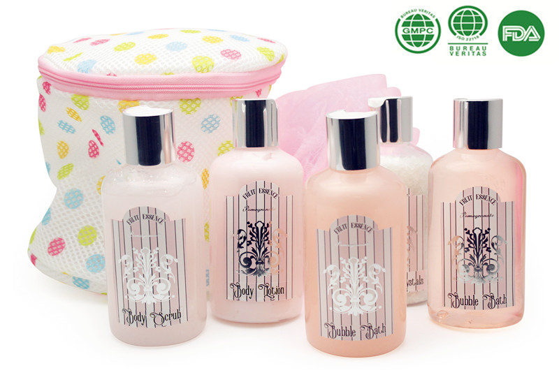 5 PCS beauty& personal care products for bath in tin box