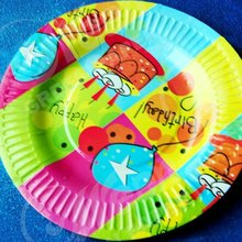 Raw material paper plate
