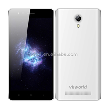 2017 white colour Popular VKworld F14.5 inch Android 5.1 MTK6580-1.3GHz Quad-core, Network: 3G, Dual SIM, GPS, FM cellphone