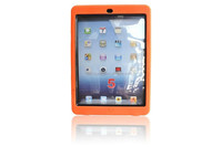 Hot sale For ipad5 hybrid armor defender skin case cover with diamond