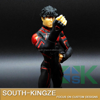 Black and Red Cute Young Man Marvel Movie Resin Action Figure