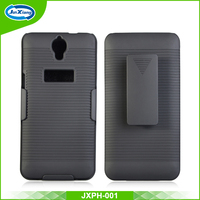 New arrival plastic swivel clip phone cover for Alcatel one touch 6043d