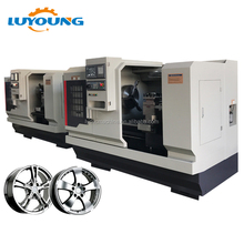 CRW28 China Horizontal cnc hydraulic wheel rim repair lahte machine equipment