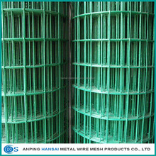 Heavy gauge 1X1 pvc coated welded wire mesh/Wire mesh panels lowes