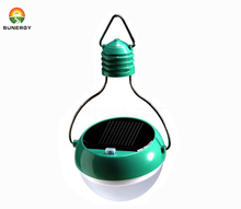 outdoor camping light 4 led 1000mA battery portable solar light bulb