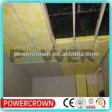 fire insulation soundproofing glass wool properties