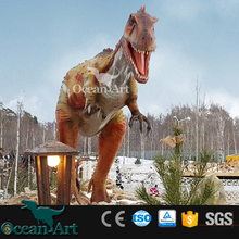 OAV17084 Artificial Playground Dinosaurs Model and Play Dinosaur Games