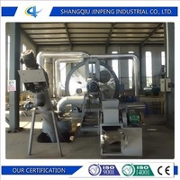 Recycling Garbage Screw Water Chiller Pyrolysis Plant Equipment