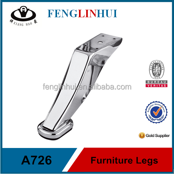 Contemporary metal furniture sofa legs for sale A726