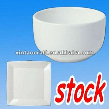 porcelain tableware stock