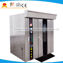 Gas rotary rack oven, rotary bread oven manufacturer, bread flour electric ovens for bakery