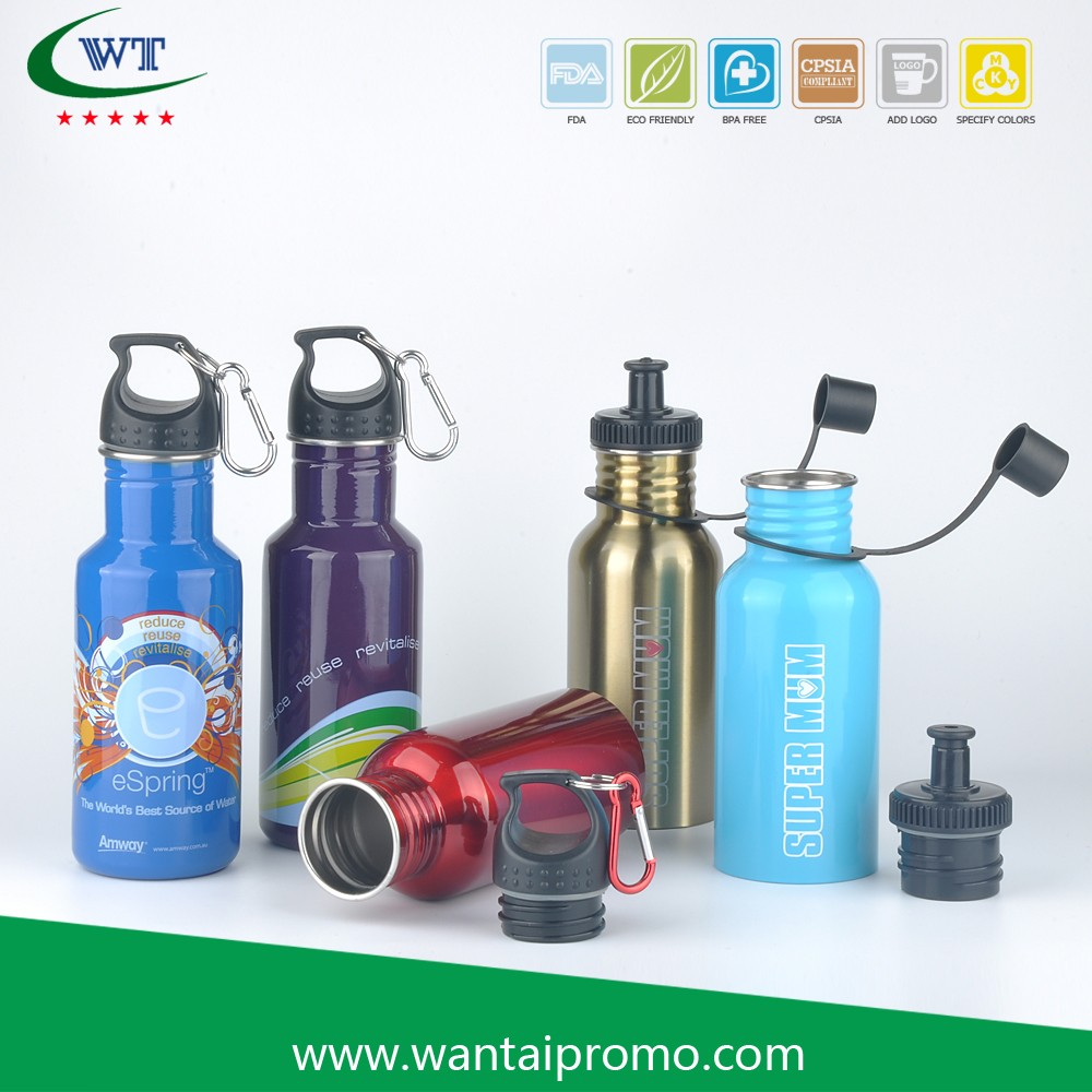 Sublimation Sport Cycling Ss Water Bottle With Handle