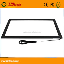 2017 best price lowest shipping fee 19'' inch USB infrared multi touch screen frame /IR touch panel/KIOSK DESIGN