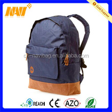 Simple large capacity designer backpack