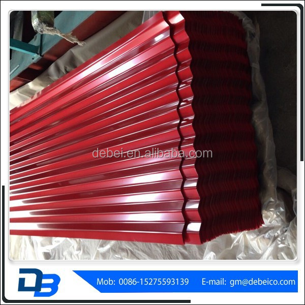 Red Building Materials Roofing Tiles For Sale
